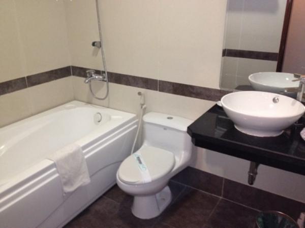 ゴールデンレジェンドホテル室内バスルーム・トイレ画像