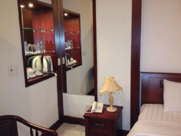 シティホテル - 18 ルーヴァンランストリート室内ベッド画像