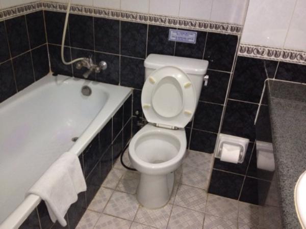 オリアホテルジャカルタお風呂画像
