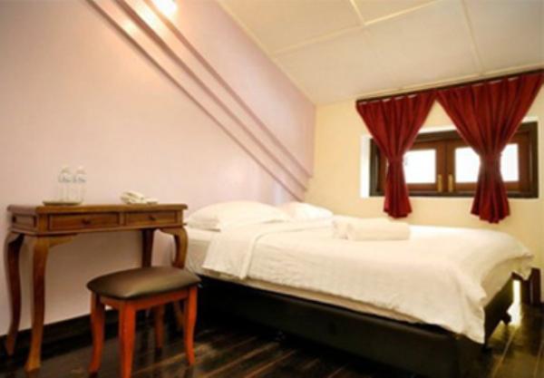 クラシックインストリート室内ベッド画像