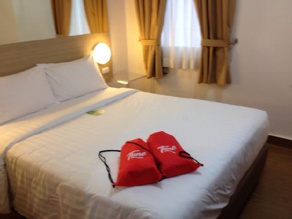 チューンホテルエルミタマニラ室内ベッド画像