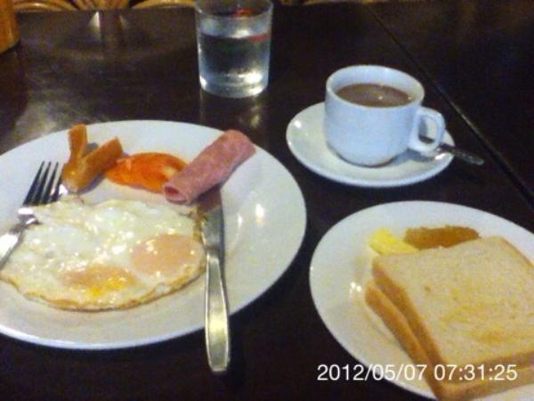 エイジアンパビリオンホテル朝食画像