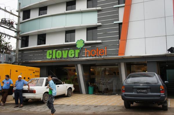 クローバーホテル建物外観画像