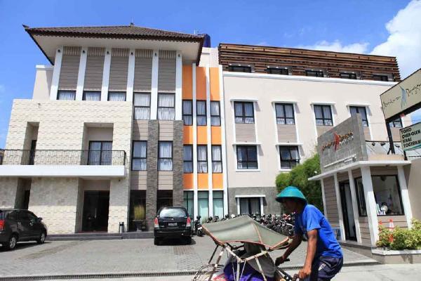 ホテル ジェントラ ジョグジャカルタ建物外観画像