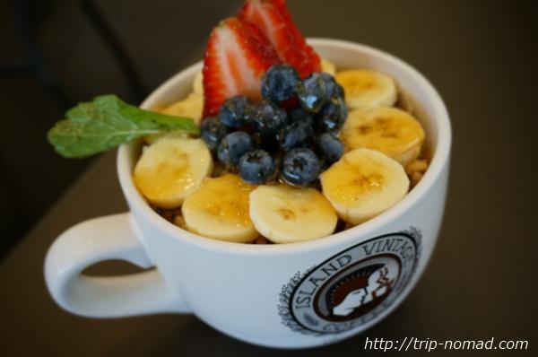 ハワイ「アイランド・ヴィンテージ・コーヒー」のアサイ・ボウル画像