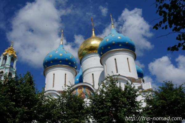 セルギエフパッサードウスペンスキー大聖堂画像
