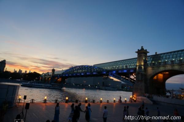 モスクワゴーリキー公園画像