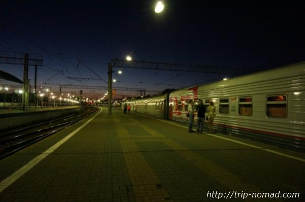 モスクワ「ヤロスラフスキー」駅画像