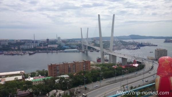 ウラジオストク「黄金橋」画像
