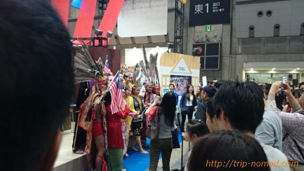 『ツーリズムEXPOジャパン』マレーシアブース画像