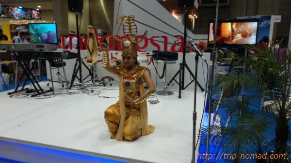 『ツーリズムEXPOジャパン』インドネシアのブース画像