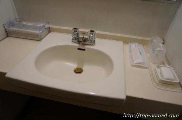 箱根湯本「萬翠楼 福住」20号室洗面台画像