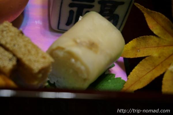 箱根湯本「萬翠楼 福住」夕食押しずし画像