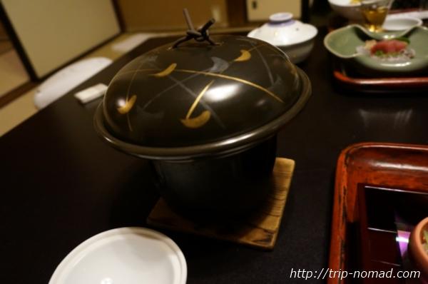 箱根湯本「萬翠楼 福住」夕食鮭の味噌焼き画像