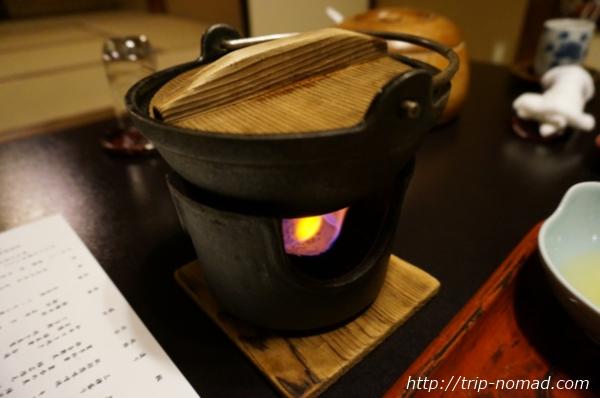 箱根湯本「萬翠楼 福住」夕食すき焼き画像
