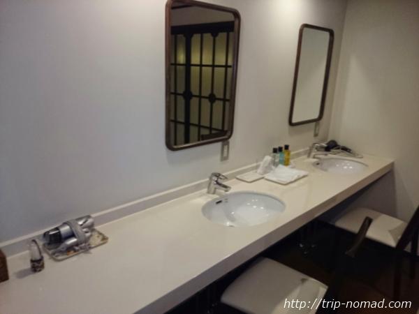 箱根湯本「萬翠楼 福住」浴室アメニティ画像