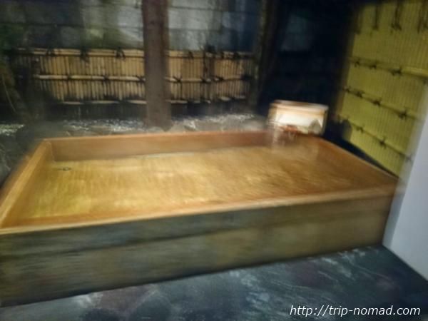 箱根湯本「萬翠楼 福住」「扇の湯」露天風呂画像