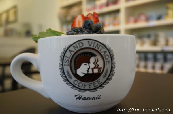『アイランド・ヴィンテージ・コーヒー』アサイー・ボウル画像
