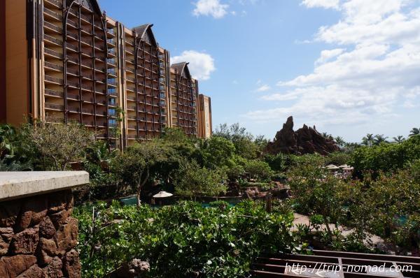 『アウラニ・ディズニー・リゾート&スパ』ホテル外観画像