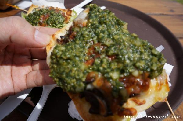 『カフクファーム』ピザ画像