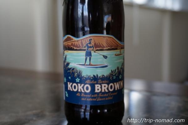 『コナビール』コナビール「Koko Brown Nut Brown Ale(ココブラウン)」画像