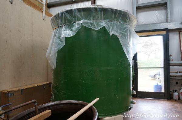 『波花』で使用している蒸留タンク画像