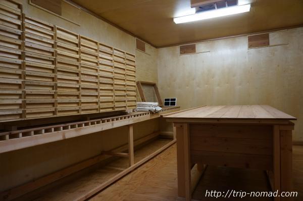 『波花』の酵母室画像