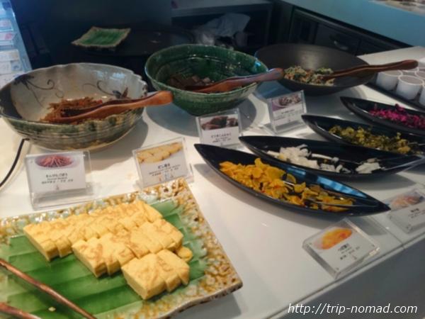 大阪マリオット都ホテル朝食「COOKA(クーカ)」ビュッフェ・和食画像