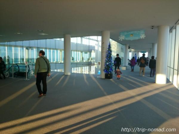 大阪マリオット都ホテル展望台「ハルカス300」展望フロア画像