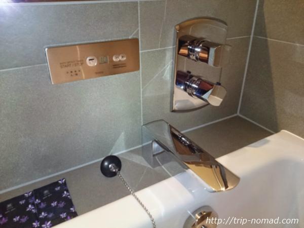 大阪マリオット都ホテル部屋バスルーム画像