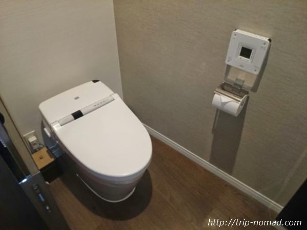 大阪マリオット都ホテル部屋トイレ画像