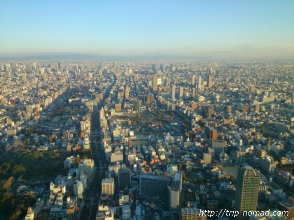 大阪マリオット都ホテル展望台「ハルカス300」眺望画像