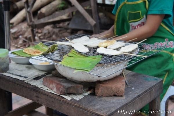 『ラオスのローカル料理』カオ・チー画像
