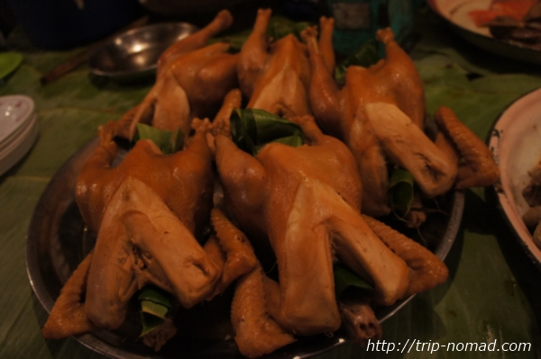『ラオスのローカル料理』チキン画像