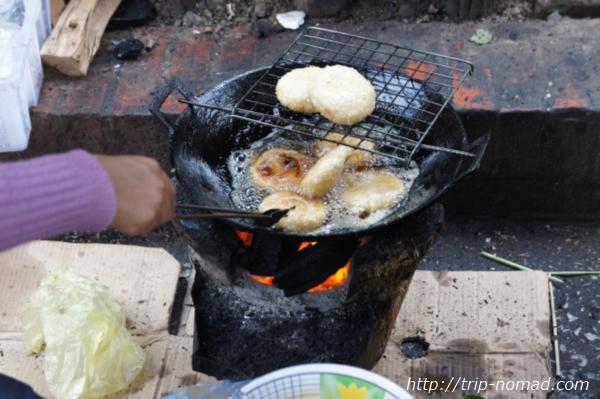 『ラオスのローカル料理』フライもの画像