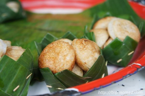 『ラオスのローカル料理』デザート画像