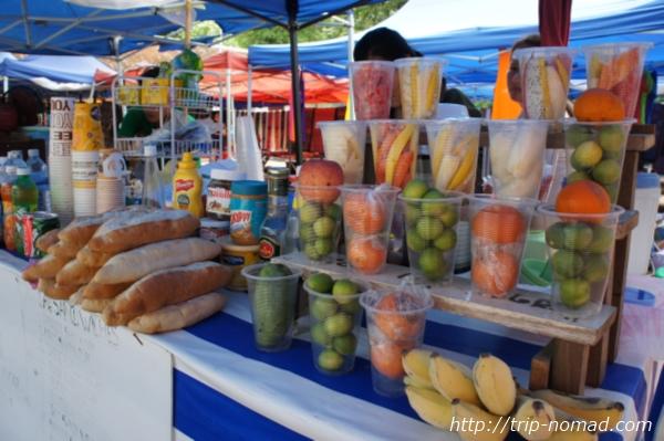 『ラオスのローカル料理』南国フルーツスムージー画像