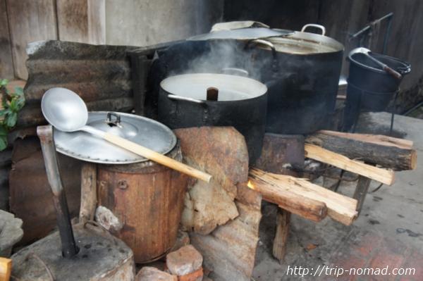 『ラオスのローカル料理』カオピアックカオ画像