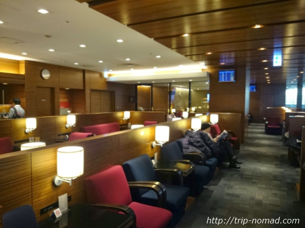 羽田空港「エアポートラウンジ(北)」内部画像