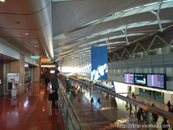 羽田空港「エアポートラウンジ(北)」入口まで画像