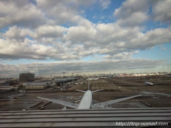 羽田空港「エアポートラウンジ(北ピア)」景色画像