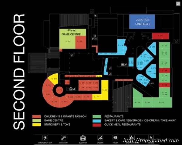 『ジャンクションスクエア』フロアマップ画像