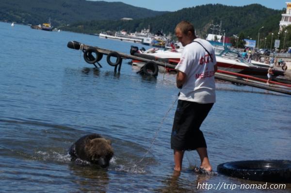 バイカル湖透明度チェック画像
