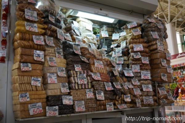 ロシアのイルクーツク市場ビスケット場画像