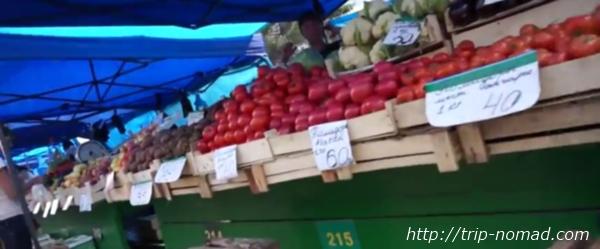 ロシアのイルクーツク市場画像