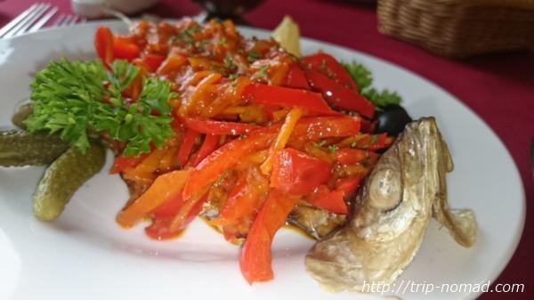 バイカル湖オームリ料理画像