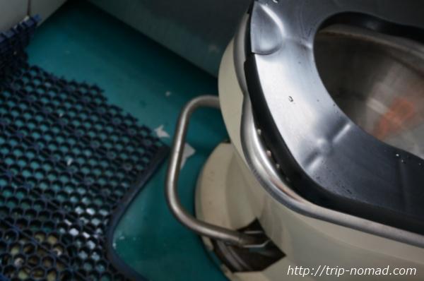 シベリア鉄道新型トイレ便器画像
