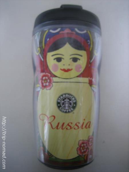 ロシアスターバックスマトリョーシカタンブラー旧式2007年モデル画像