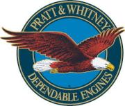 航空機エンジン『プラットアンドホイットニー社』ロゴ画像