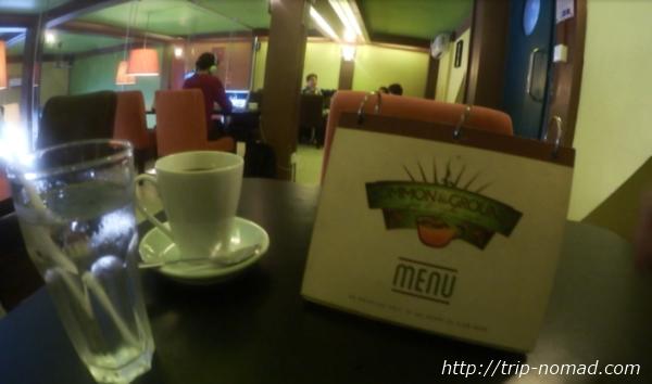 カンボジア・シェムリアップ・『コモングラウンズ・カフェ』コーヒー画像